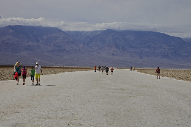 Crowd at Badwater