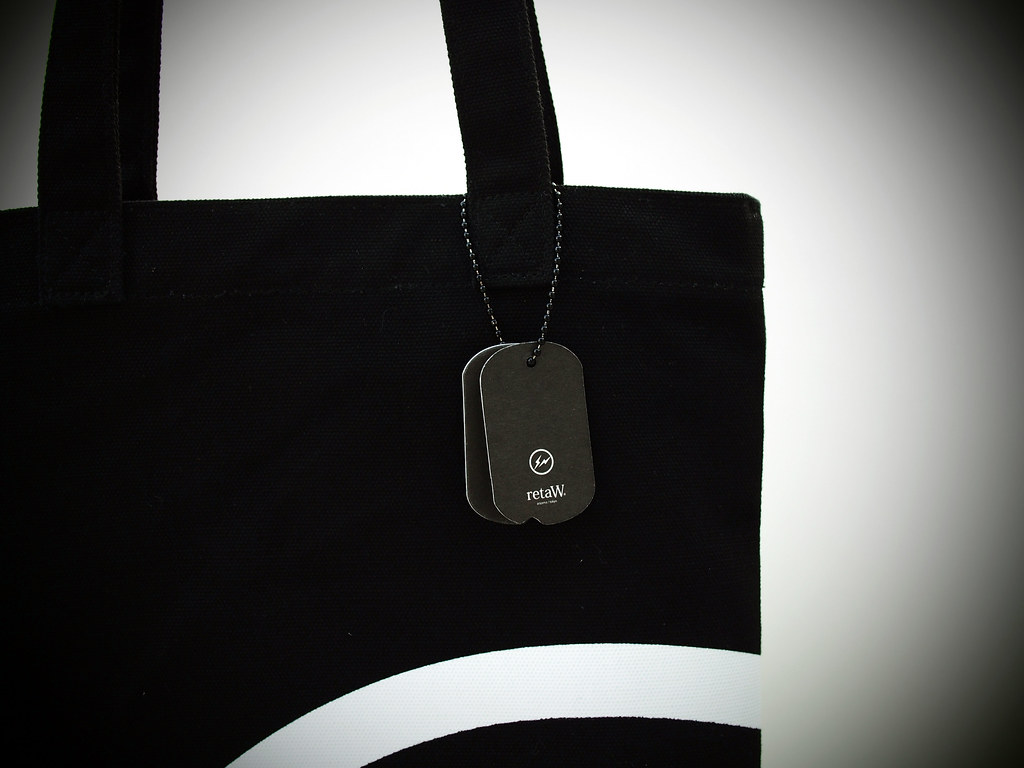retaW × Fragment Design | Fragrance Dog Tag