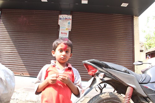 Holi 2014 Bandra Bazar Road Shot By Nerjis Asif Shakir 2 Year Old by firoze shakir photographerno1