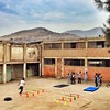 After spying on a secondary level gym class in San Juan de Miraflores, I can now hereby conclude that gym teachers internationally are cut from the same cloth. #exercise #lima #peru #school #travel #landscape
