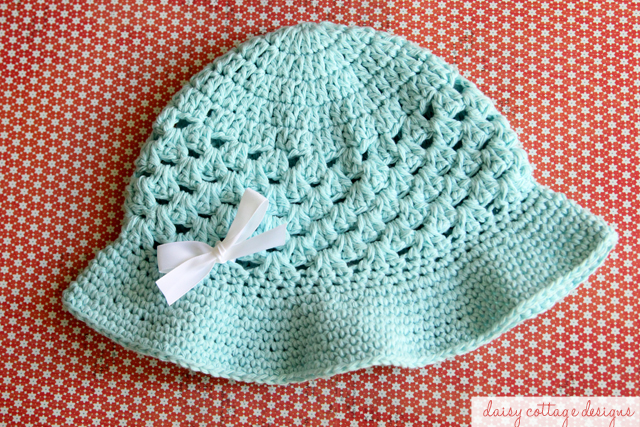 Crochet Hat Pattern for Summer - Daisy Cottage Designs 1d20f039017