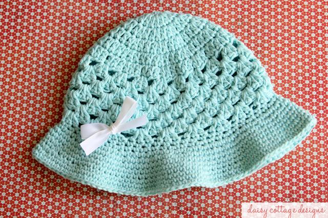 Crochet Hat Pattern for Summer - Daisy Cottage Designs 201ff0b29ef