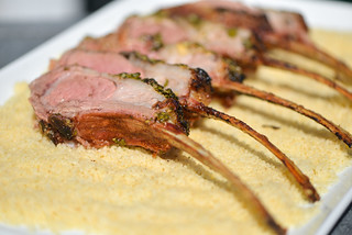 Moroccan-Spiced Rack of Lamb