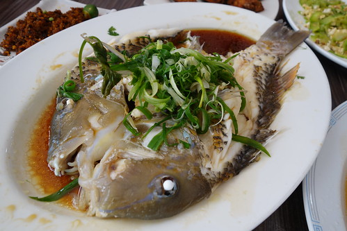 Steamed Fish at Zai Shun, Jurong East.