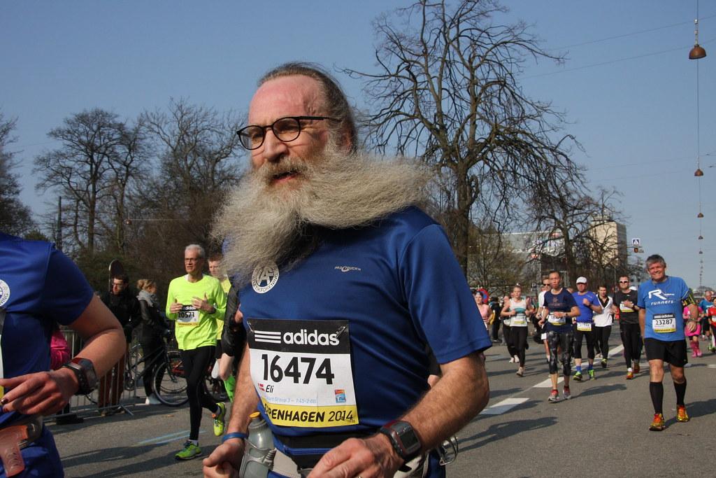 Copenhagen Half Marathon - Mass Race: Eli
