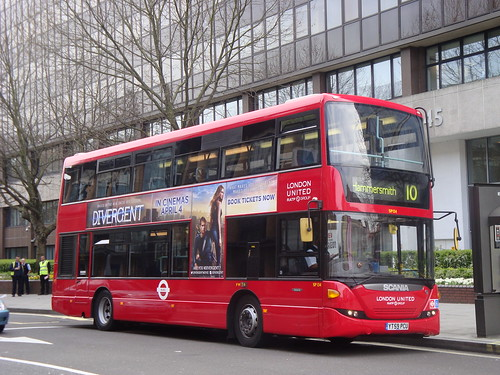 London United SP134 on Route 10, Hammersmith