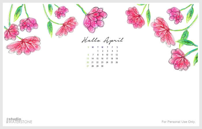 April Desktop Wallpaper is here!