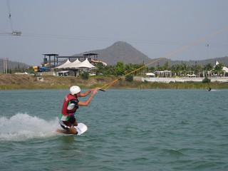 Me Wakeboarding