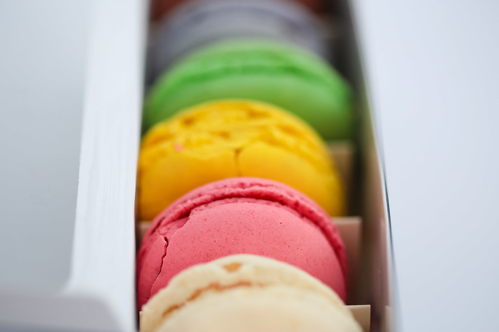 101/365 Fresh Macarons from France!
