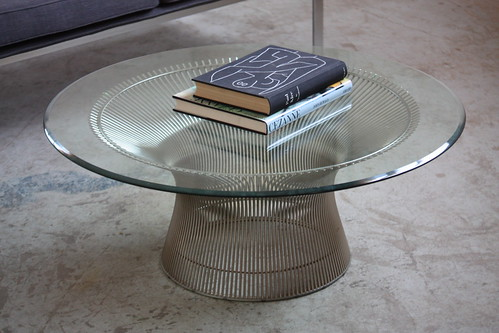 Exquisite Warren Platner Mid Century Modern Coffee Table for Knoll (U.S.A., 1960s)