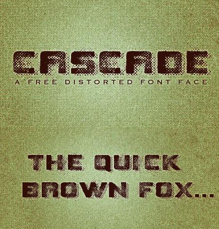 Шрифт Cascade для Фотошоп