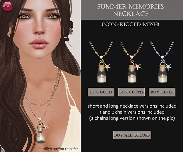 Summer Memories Necklace (for Mesh Avenue)