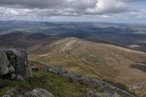 Meall Coire na Saobhaid from Lochnagar