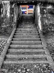 Penarth Beach Stairwell