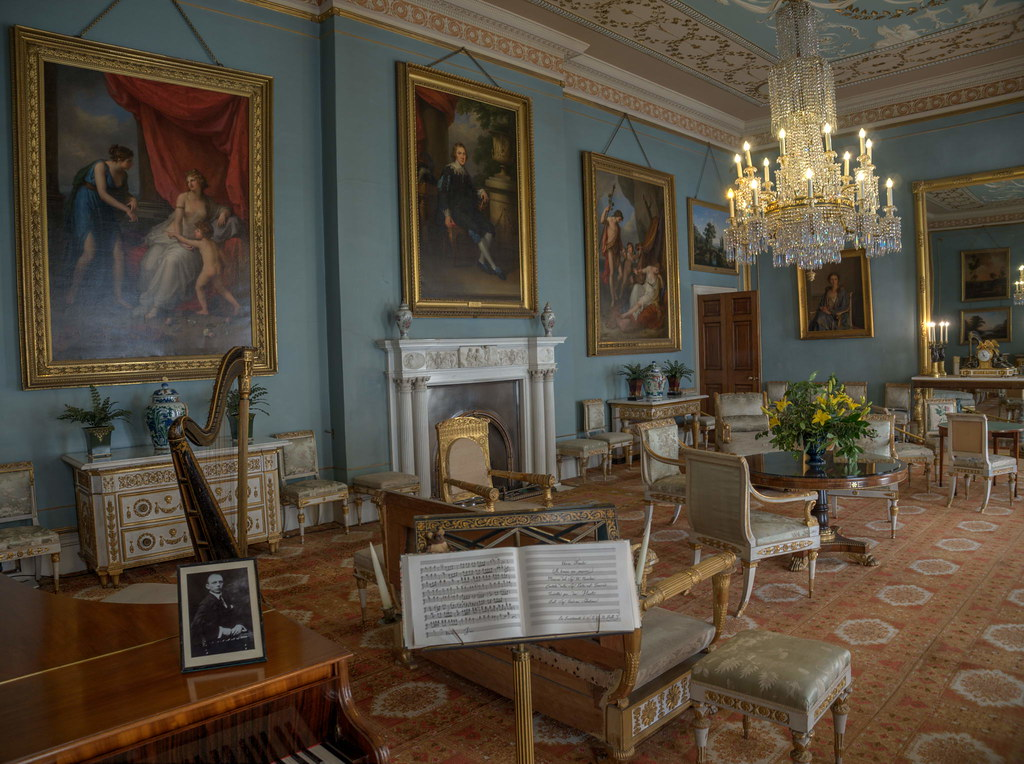 Attingham Hall - Drawing Room