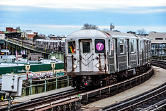 MTA New York City Subway Bombardier R62A #1961