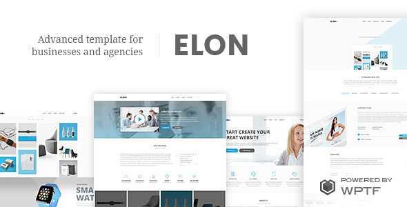 Elon WordPress Theme free download