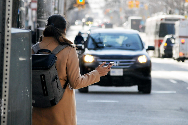 Uber ride-hailing passenger, Toronto