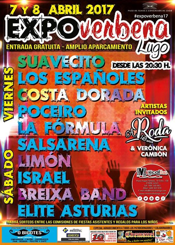 Lugo 2017 - Expoverbena - cartel