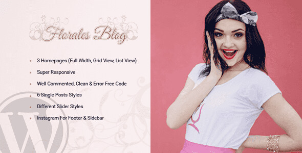 Florales WordPress Theme free download