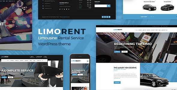 Limo Rent WordPress Theme free download