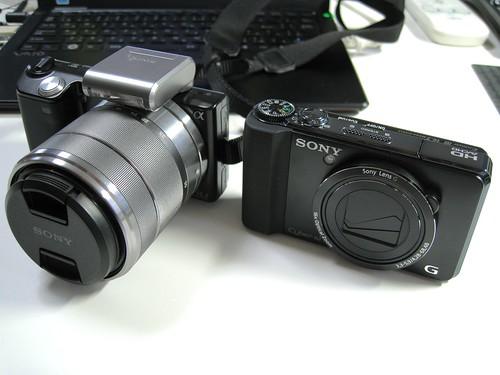 SONY NEX-5 & DSC-HX9V