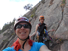 Climbergirls Ready to Climb The Spy