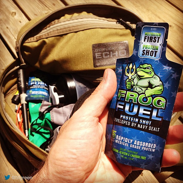 Frog Fuel protein shots