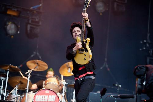 Green Day op Pinkpop 2013