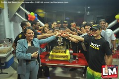 Gold's Gym Moca celebra 2do. Aniversario