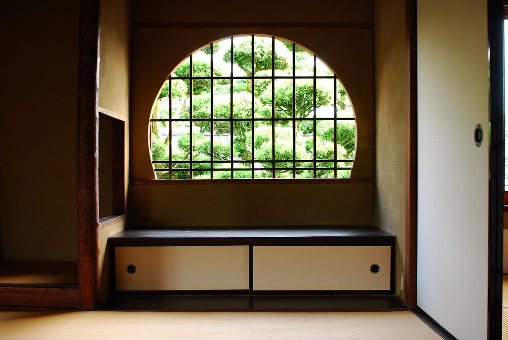 志賀直哉旧居 二階円窓