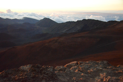 haleakala national park summit @ sunrise