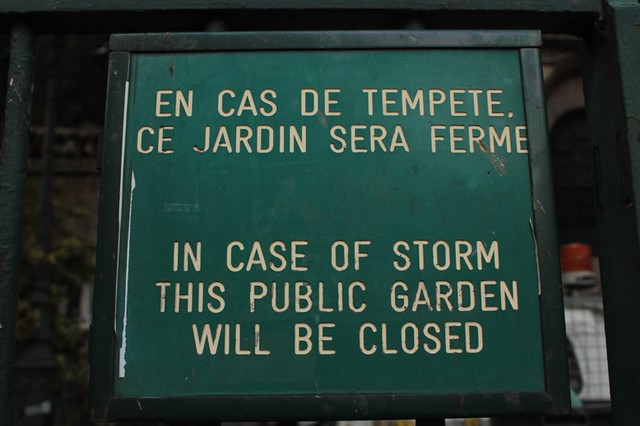 In caso di tempesta