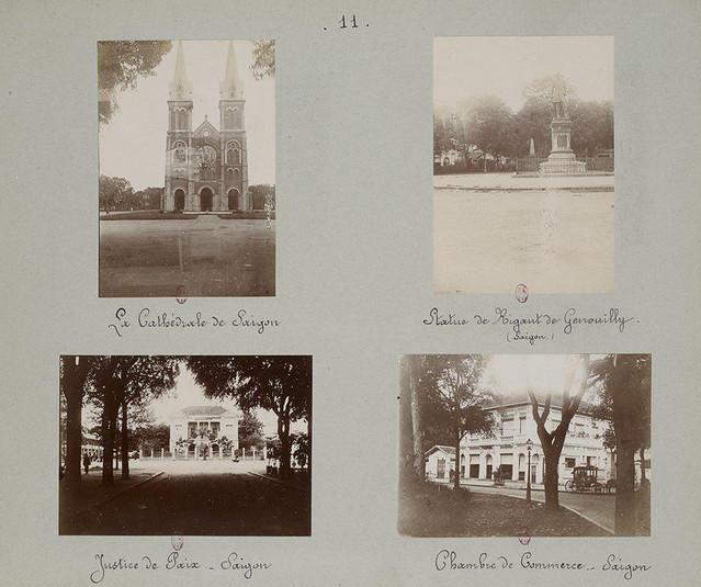 SAIGON 1895 (2) - Những trang album xưa