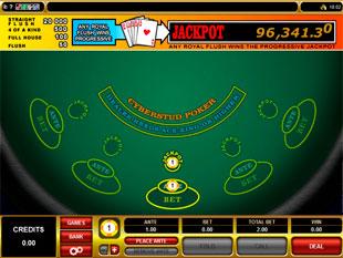 Progressive Cyberstud Poker