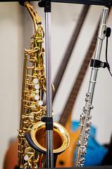 reed instrument, baritone saxophone, wind instrument,