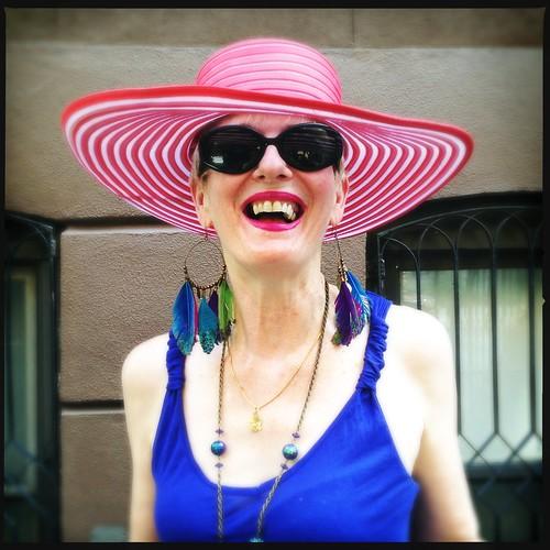 Retrato en la calle: Kathleen Flynn, artista (Midtown, Manhattan)