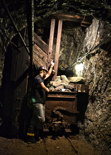 miner at sterling hill museum, nj