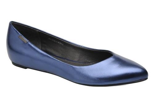 Esprit Lyra ballerina metallic blue