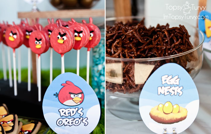 Angry Birds Birthday Party Ashlee Marie real fun with real food