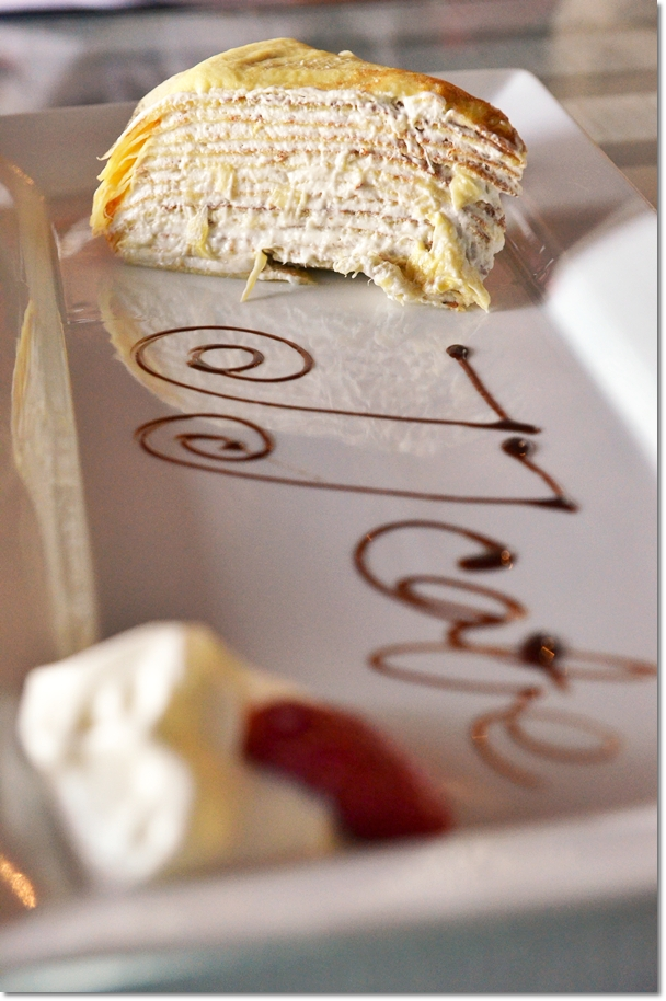 Durian Mille Crepe Cake