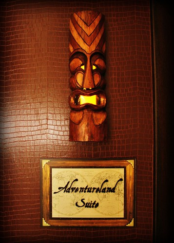 Adventureland Suite entrance