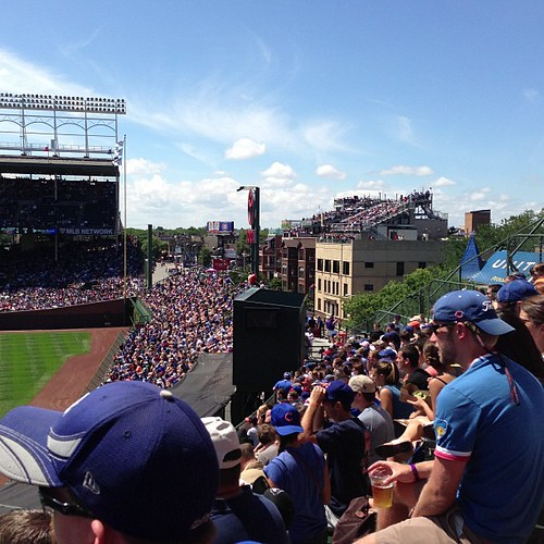 Next time I want to sit on the Wrigley rooftop!