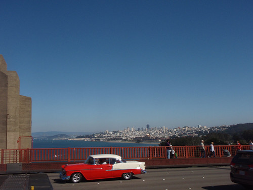 Golden Gate Bridge: back to the 50s