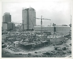 City Hall area construction