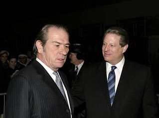 Tommy Lee Jones and Al Gore