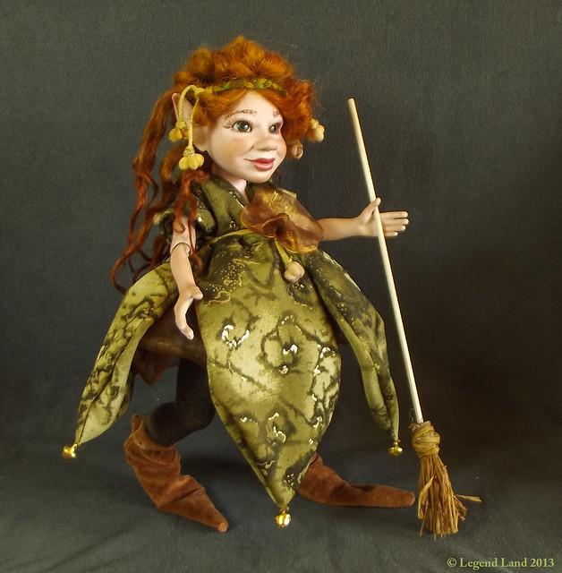 Witch Porcelain doll BJD OOAK dolls Fantasy doll
