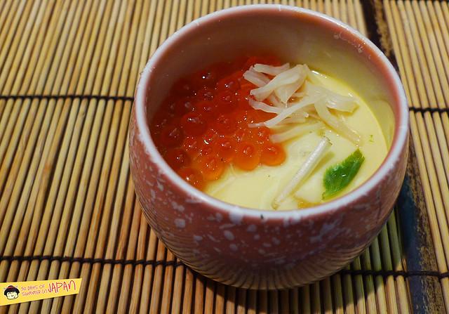 Sushi Sho - Tokyo - uni, abalone, ikura, scallop chawamushi 3