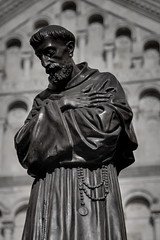 Statue of Saint Francis of Assisi, Cagliari