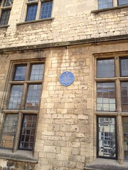 Photo of Joseph Tombs blue plaque